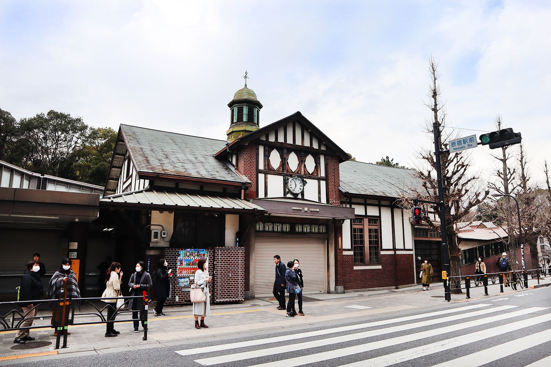 JR原宿駅舎01