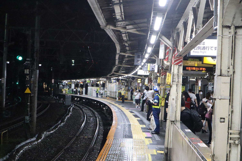 JR中央総武線飯田橋駅ホーム01
