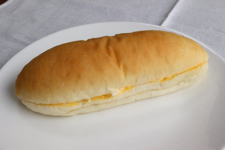 人気の玉子パン150円。