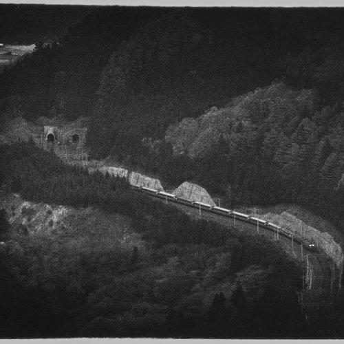 米屋こうじ写真展「夜汽車の刻」2021年4月15~25日開催。24日には古今亭駒治師匠との鉄道スペシャルトークも。