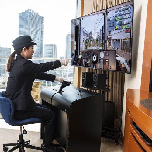 『横浜ベイホテル東急』の部屋で運転士になれる!? 東急電鉄コンセプトルーム宿泊プラン「みんなで運転士」
