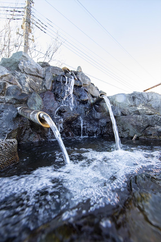 一般公開されている新町の井戸。