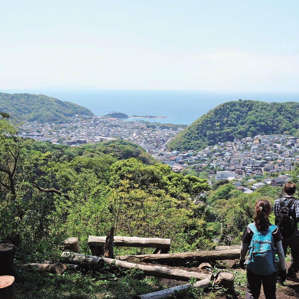 仙元山と大峰山の二峰で、相模湾と葉山の街の展望を楽しむ。神奈川県・葉山町【東京発日帰り旅】