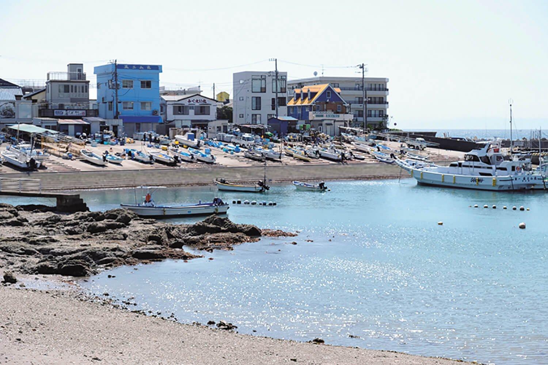 大峰山から真名瀬コースを下りてくると真名瀬漁港がある。ワカメやヒジキなど海藻類の水揚げが多いそうだ。
