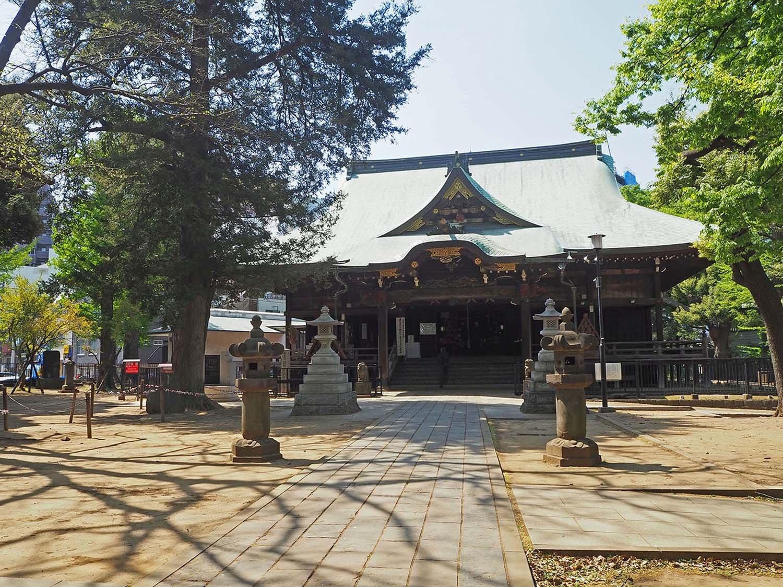 雑司ヶ谷鬼子母神堂(ぞうしがやきしぼじんどう)