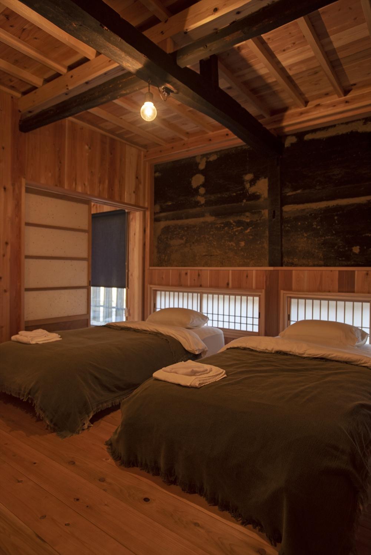 客室は洋室と和室が選べる。写真は洋室。