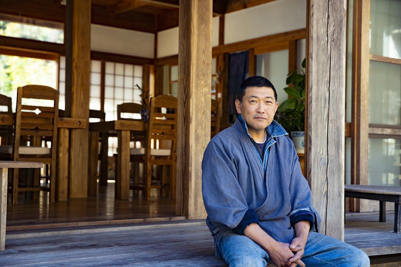 中村さん手製の味噌はみやげに。