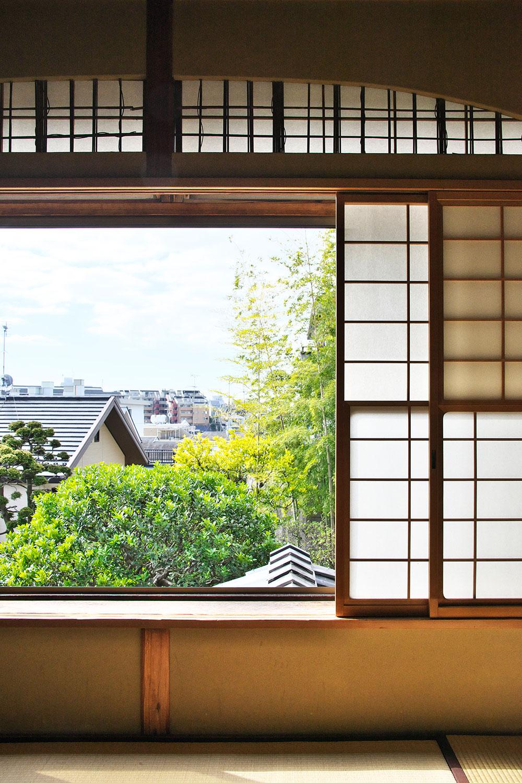2階から海と池上本門寺と富士山が見えたとか。