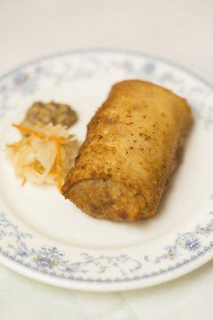 ロシア料理 サラファン ブリンチピロシキ