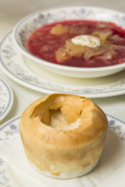 ロシア料理 サラファン 小さな壺焼きセット