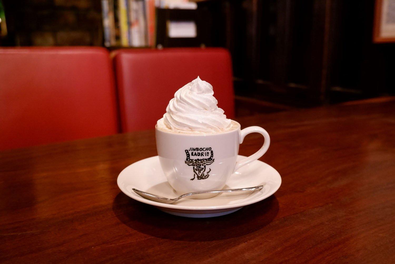 ウインナーコーヒー600円。