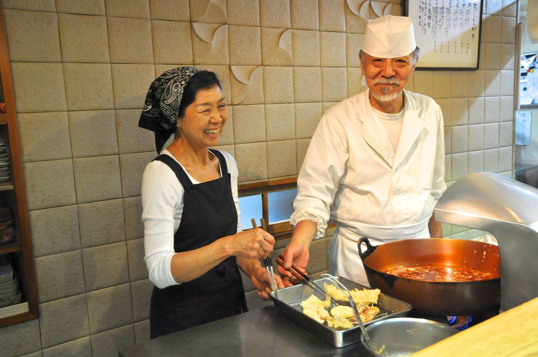 「ご来店してくださった方に、ご満足いただけるように」と、津田夫妻。