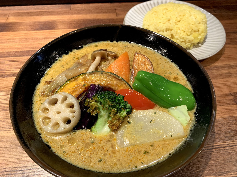 spice&smileA 野菜カレー