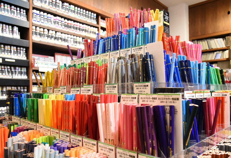 色鉛筆88円~。