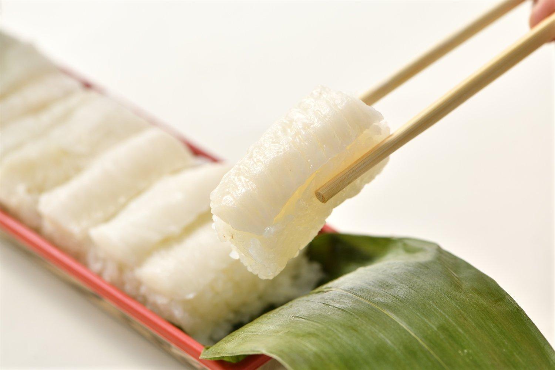 えんがわ押し寿司 1200円。