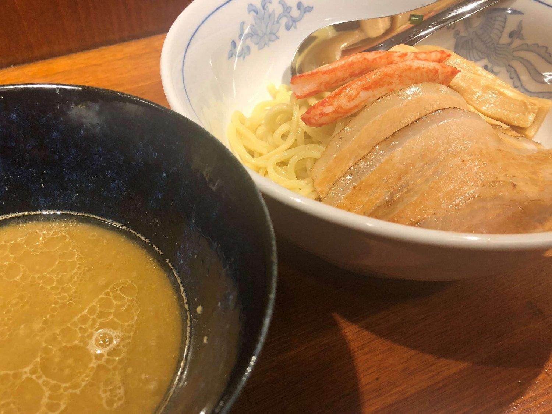 旨辛麺かつくに_荻窪ラーメン_濃厚化にみそつけ麺
