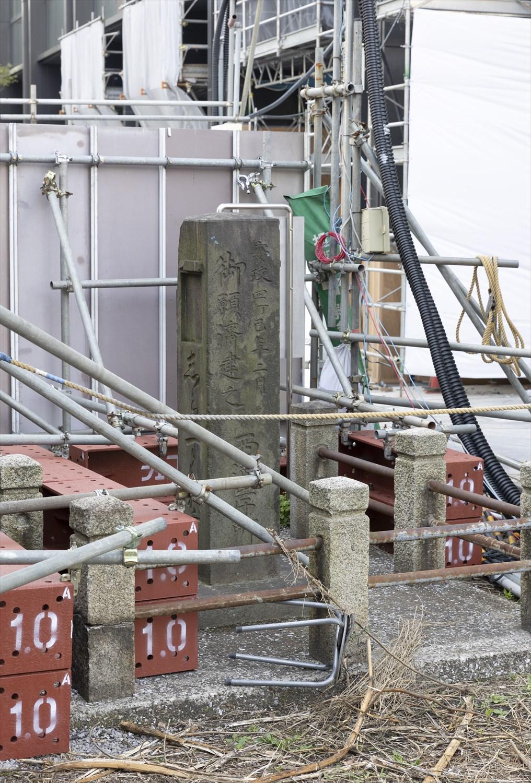 江戸期に活躍した迷子センターは石標だった