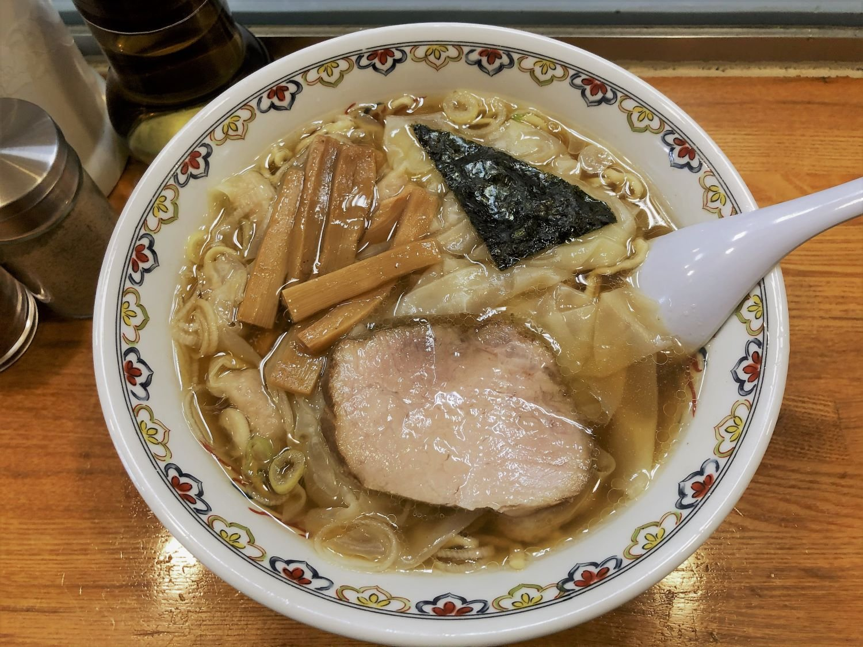 わんたん麺1250円が人気。