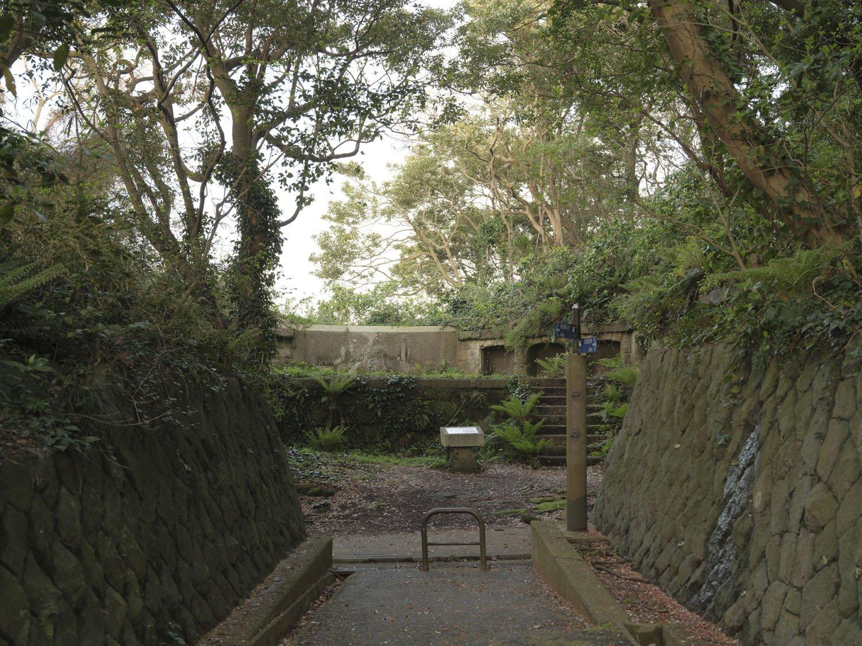 もう一つの日本初の西洋式砲台。