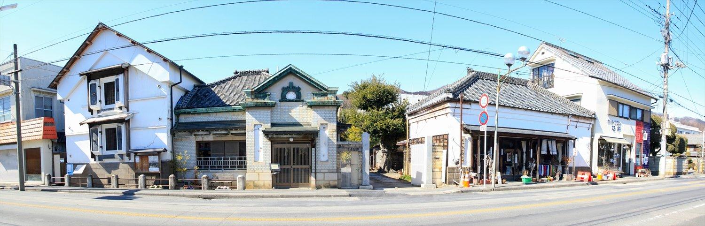 桐生新町の町並み