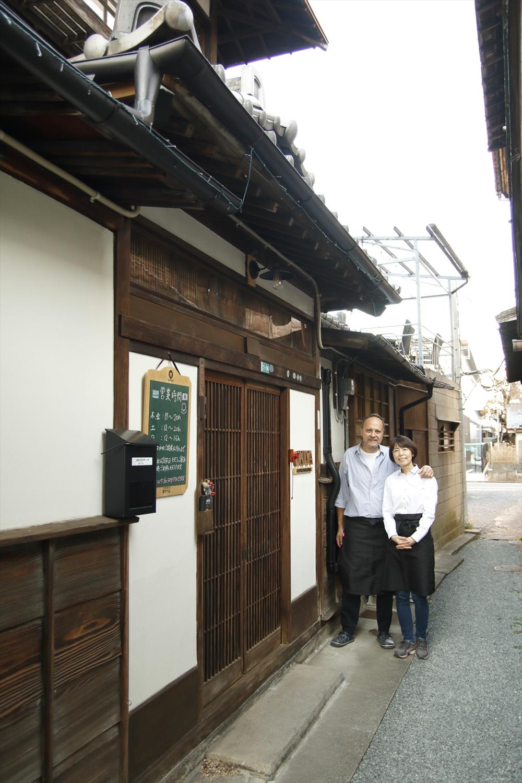 裕子さんとガブリエルさん。