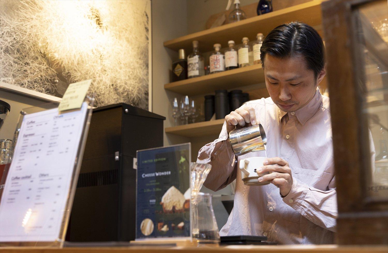 「うちのコーヒーを一言で表すとクリア。毎日飲みたくなる味」と加藤さん。