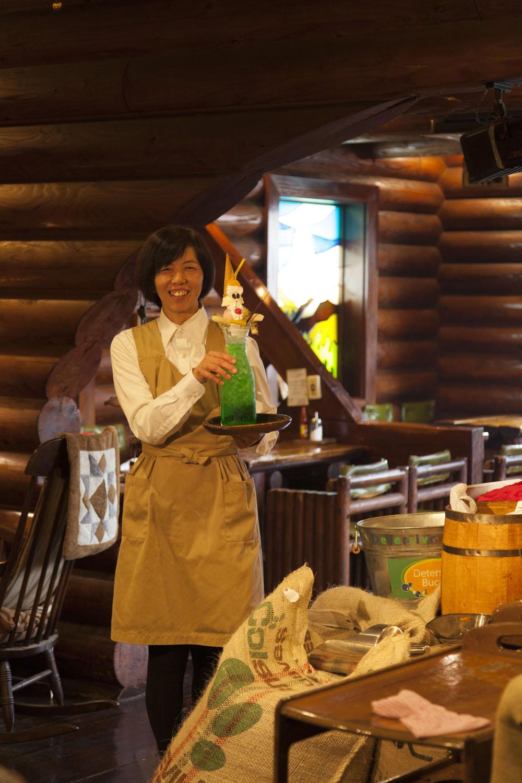 埼玉中心に19店を展開し、8店舗はご覧のようなログハウス風。