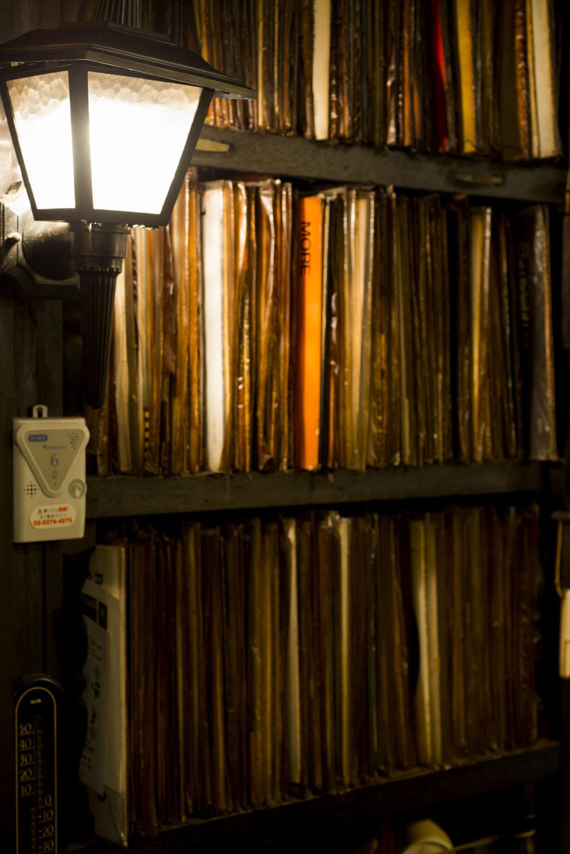 レコードもあるが現在はかけていない。
