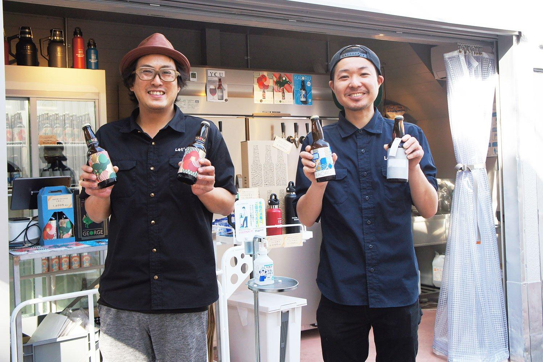『BAR Tenderly』や『吟吟』など、近隣の人気飲食店でも大森山王ビールが飲める。