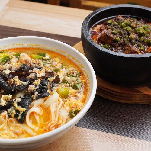 自慢はもっちりつるつるの刀削麺! 赤羽『中華タンタンメン』でパンチ力のある本格四川料理を堪能する