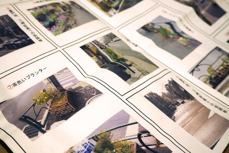 石井さんが撮影した谷根千エリアの緑。