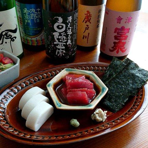 マグロの日本酒漬けに『蔵を継ぐ』の5銘柄【山内聖子の偏愛する日本酒とつまみの話】