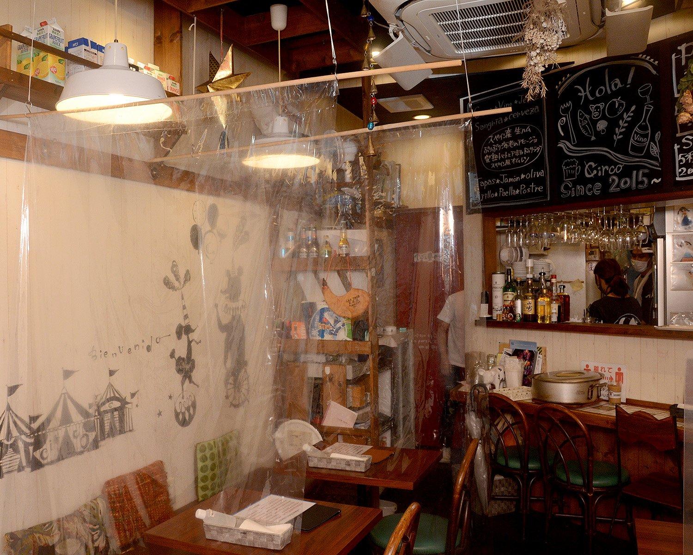 総席数は18席と少々コンパクトなお店だが、本格的なスペイン料理が楽しめるということであっという間に人気に。