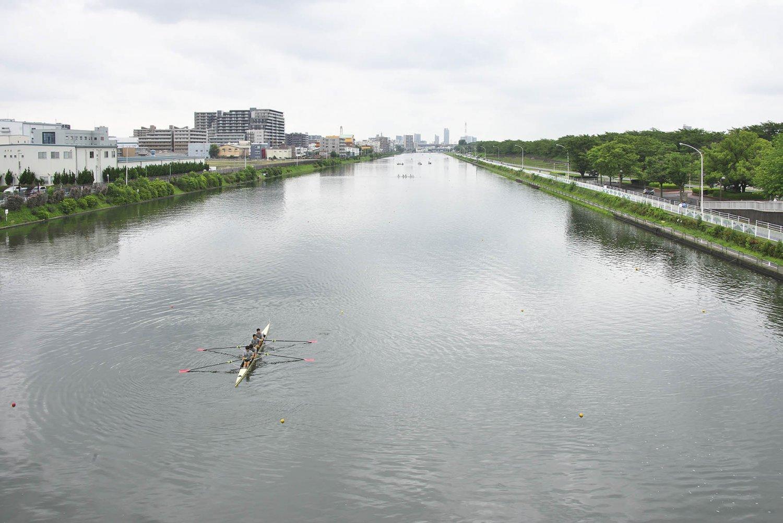 埼玉県戸田市の戸田漕艇場では、オーストラリアとルーマニアの選手団が事前合宿で練習に励む予定だ。