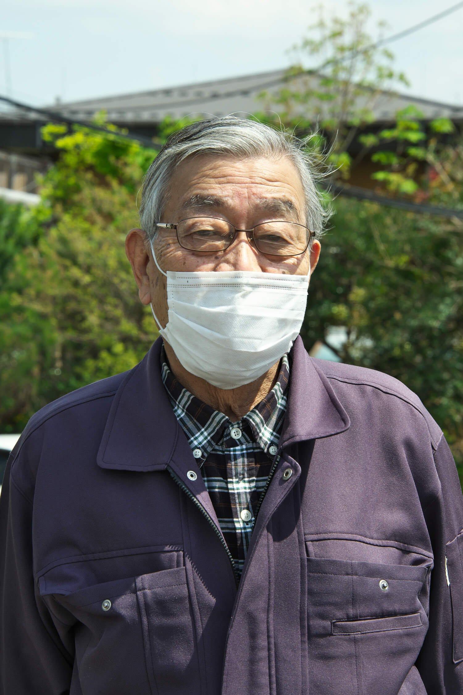 練馬区生まれの井上堯さん。中高生時代に陸上競技に励んでいたため聖火ランナーに。