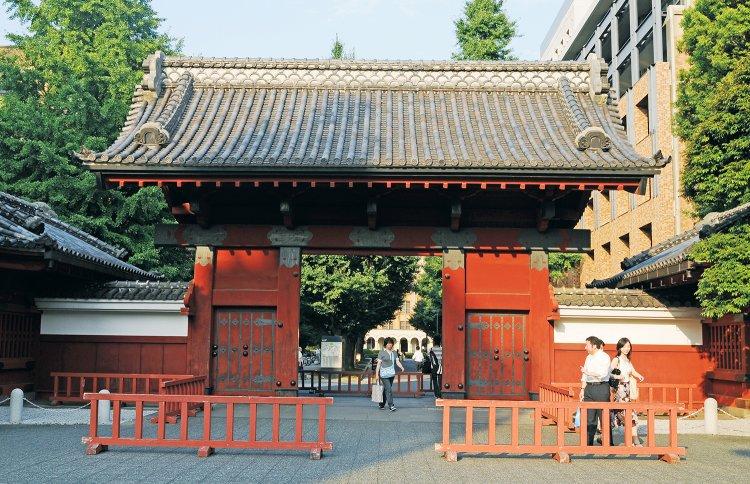 東大赤門(とうだいあかもん)