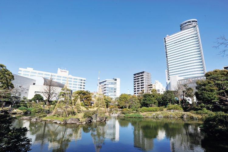 旧安田庭園(きゅうやすだていえん)
