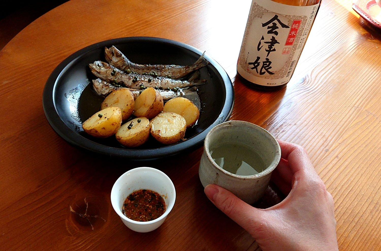 日本酒とつまみ2