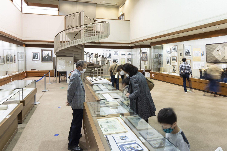 渋沢栄一記念館内部