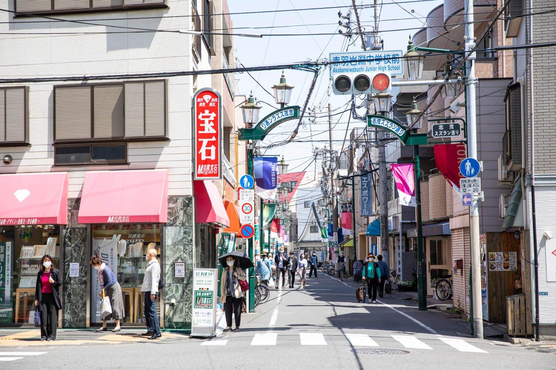 赤羽3商店街