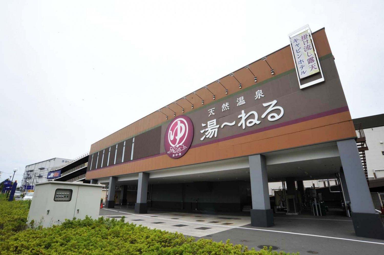 新習志野駅からすぐの駅前温泉。朝風呂は6時から営業中だから、仕事前にひとっ風呂、というのもできる。