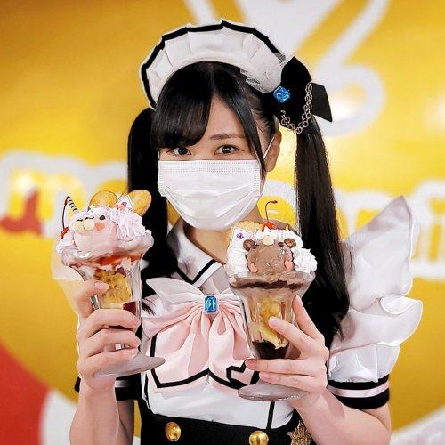 萌え萌えきゅん♪ 日本一のメイドカフェでかわいい動物パフェを楽しむ『めいどりーみん』~黒猫スイーツ散歩 秋葉原編⑦~