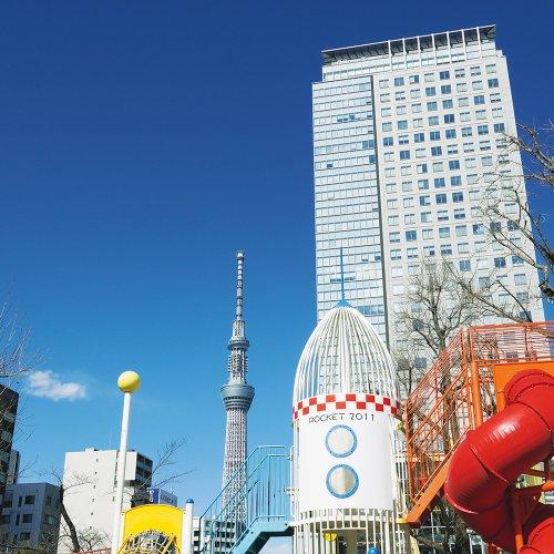 押上駅からはじめる押上・東京スカイツリー散歩 〜世界一高い自立式電波塔のお膝元で、博物館巡り〜