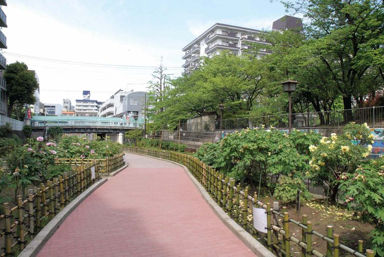 古石場川親水公園(ふるいしばがわしんすいこうえん)