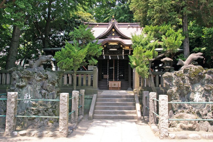 橋戸稲荷神社(はしどいなりじんじゃ)
