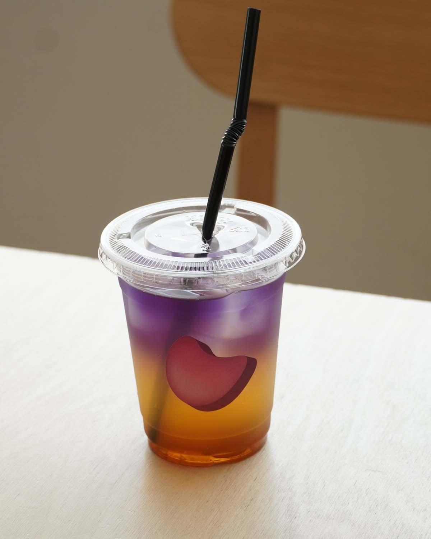 蜂蜜とレモンのジャスミンティーのアイス600円。