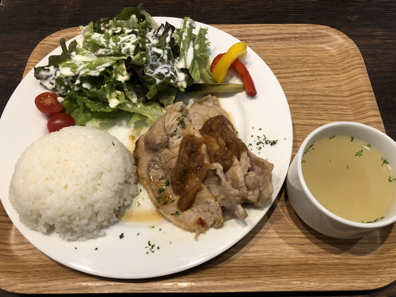 Cafe GINGER.TOKYO_ジンジャーポーク