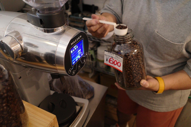 The NorthWave Coffee_豆を選んだら挽いてくれる