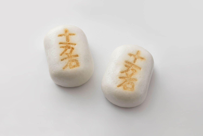 北海道十勝産の小豆、新潟県産コシヒカリの粉など原料にもこだわりあり。