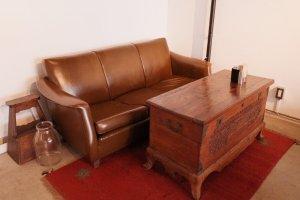 清澄白河fukadaso cafe_ヴィンテージの家具